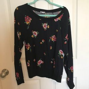 Splendid floral top size small